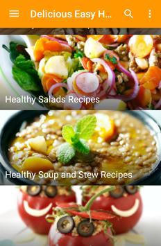 Delicious Easy Healthy Recipes screenshot 2