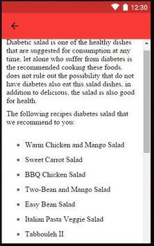 Diabetic Salad screenshot 6