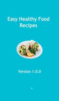 Easy Healthy Food Recipes poster