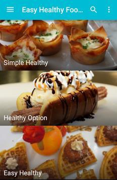 Easy Healthy Food Recipes screenshot 2