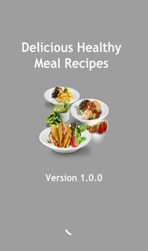 Easy Healthy Meal Recipes poster
