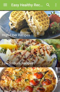 Easy Healthy Recipes Dinner apk screenshot