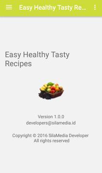 Easy Healthy Tasty Recipes screenshot 7