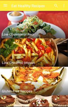 Eat healthy recipes screenshot 3