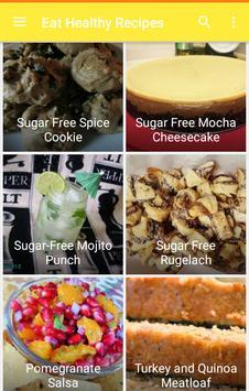 Eat healthy recipes screenshot 4