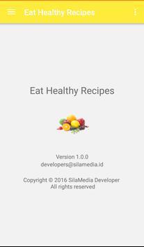 Eat healthy recipes screenshot 7