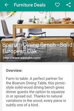 Furniture Deals screenshot 6