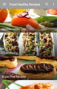 Food healthy recipes apk screenshot