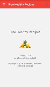 Free healthy recipes screenshot 7