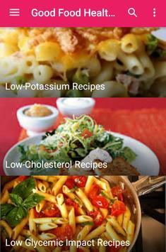 Good Food Healthy Recipes apk screenshot