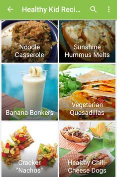 Healthy Vegetable Recipes apk screenshot