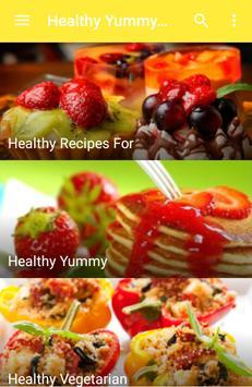 Healthy Yummy Recipes apk screenshot