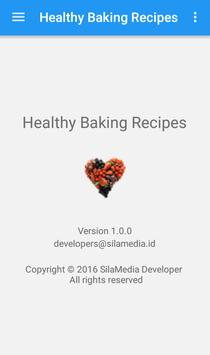 Healthy baking recipes apk screenshot