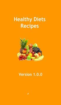 Healthy Diets Recipes poster