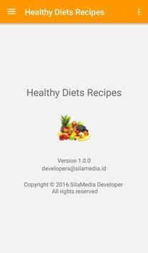 Healthy Diets Recipes screenshot 7