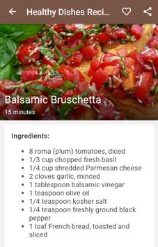 Healthy Dishes Recipes screenshot 5