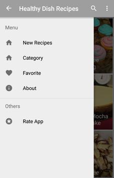 Healthy Dish Recipes screenshot 1