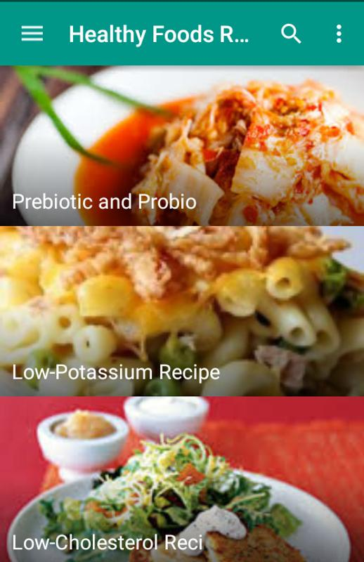 Healthy foods recipes apk download free books reference app for healthy foods recipes apk screenshot forumfinder Image collections