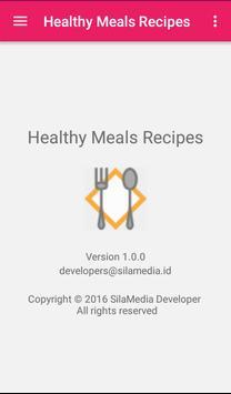Healthy Meals Recipes apk screenshot