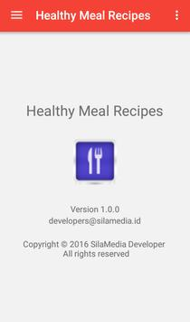 Healthy Meal Recipes apk screenshot