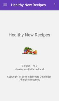Healthy new recipes screenshot 7