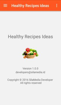 Healthy Recipes Ideas apk screenshot