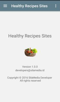 Healthy Recipes Sites apk screenshot