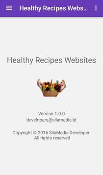 Healthy Recipes Websites screenshot 7