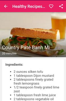 Healthy Recipes Tasty screenshot 5