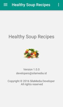 Healthy soup recipes apk screenshot