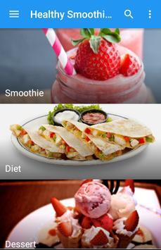 Healthy smoothie recipes apk screenshot