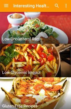 Interesting Healthy Recipes apk screenshot