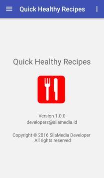 Quick healthy recipes screenshot 7