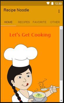 Recipe Noodle poster