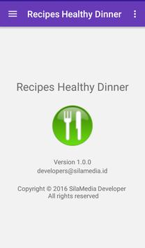 Recipes Healthy Dinner screenshot 7