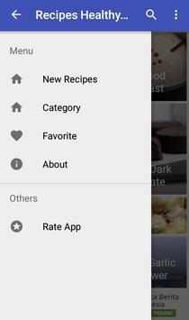 Recipes Healthy Eating screenshot 1