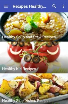 Recipes Healthy Eating screenshot 2