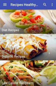 Recipes Healthy Eating screenshot 3