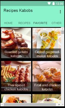 Recipes Kabobs apk screenshot