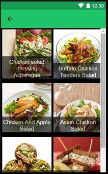 Recipes Salad apk screenshot
