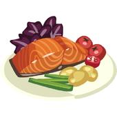 Recipes Salmon icon