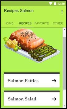 Recipes Salmon poster