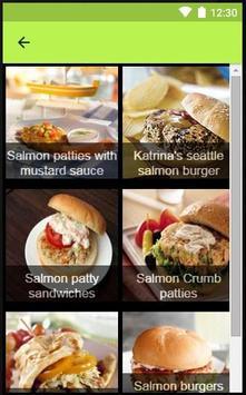 Recipes Salmon apk screenshot