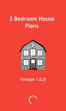 3 Bedroom House Plans poster