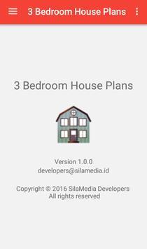 3 Bedroom House Plans apk screenshot