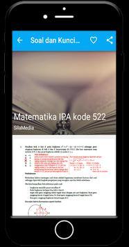 Soal SBMPTN apk screenshot