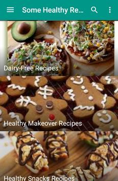 Some Healthy Recipes apk screenshot