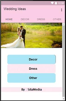 Wedding Ideas poster