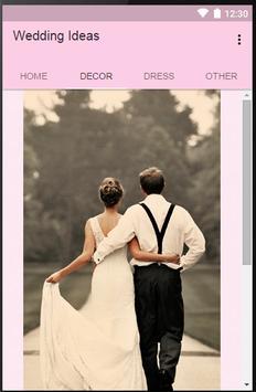 Wedding Ideas apk screenshot