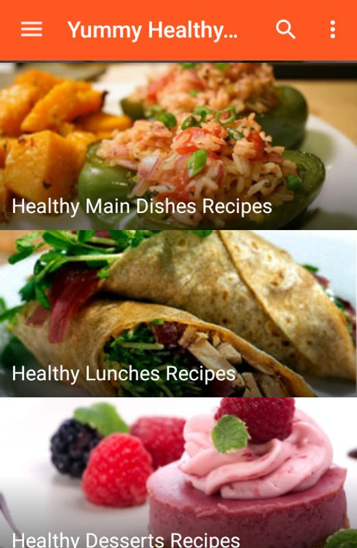 Yummy healthy food recipes descarga apk gratis libros y obras de yummy healthy food recipes captura de pantalla de la apk forumfinder Image collections